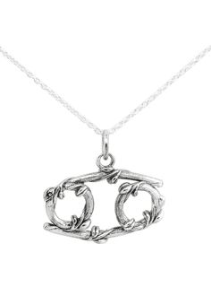 The shape of this necklace is the perfect way to represent cancer in the shape of this necklace is the perfect way to represent cancer in my zodiac tattoo without it totally looking like phone lockscreens and cases aloadofball Gallery