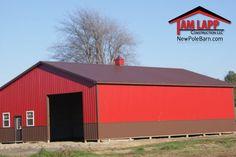 40′W X 60′L X 14′H – Agricultural Polebarn Building in La Crosse ...