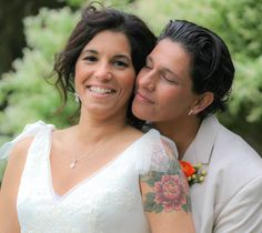 New York couple, Charlotte and Valerie Garafolo, thought marriage was so nice they did it twice.