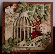 idea for birdcage die