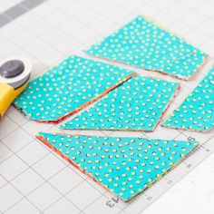 """being really fun to say, the """"stack and whack"""" is a great trick for cutting quilting fabric quickly.Besides being really fun to say, the """"stack and whack"""" is a great trick for cutting quilting fabric quickly. Scrap Quilt Patterns, Patchwork Quilting, Scrappy Quilts, Easy Quilts, Quilting Tips, Quilting Fabric, Crazy Quilting, Jellyroll Quilts, Quilting Projects"""