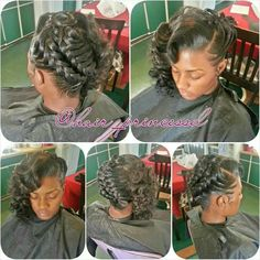 "I'm so doing this hair style for my vintage 1920""s themed Wedding 2016!#"