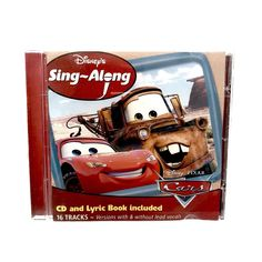 Various Artists - Sing-A-Long Cars for sale online Cd Album, Album Songs, Cars 2006, Cds For Sale, Various Artists, Disney Pixar, Soundtrack, Singing