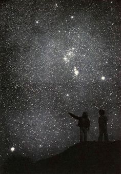 Without the dark, we'd never see the stars.