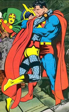 Barda and Supes get busy while Mr. Miracle arrives.