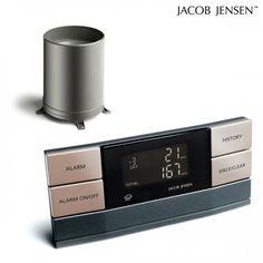 Vi har masser af dansk design produkter online - Køb Jacob Jensen Regnmåler J.J. koks | ALTID SKARPE PRISER PÅ JACOB JENSEN produkter |