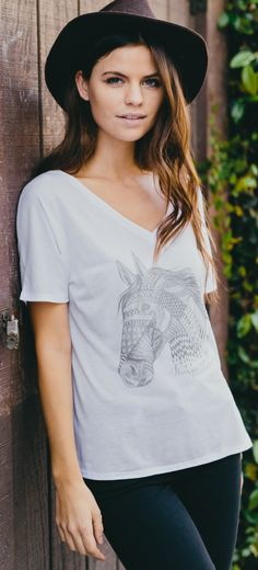 If you love animals, you should check out Sevenly this week. Every item purchased donates to The Gentle Barn, a place where rescued animals help bring healing and comfort to children with special needs and children who have been abused. Such an amazing cause, and a cute shirt too :)