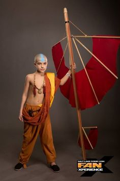Avatar Aang | Cosplay Contest FanXperience 2015 Dc Costumes, Anime Costumes, Cool Costumes, Halloween Costumes, Avatar Cosplay, Epic Cosplay, Amazing Cosplay, Avatar Movie, Avatar Aang