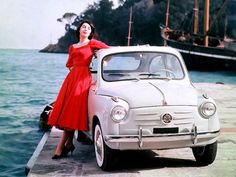 beautiful portrait of a Fiat 600