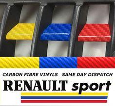 Renaultsport Clio 172 / 182 Grille Vinyls - Sport Colours