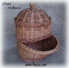 Корзина для лука weaving paper