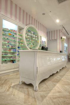 pharmacy design, eczane dekorasyonu