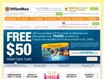 Office Max coupon codes for free shipping and discounts.