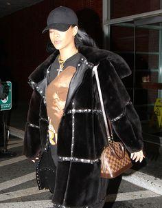 Rihanna Louis Vuitton Alma BB Bag