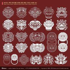 한국 전통 문양 ai - Google 검색