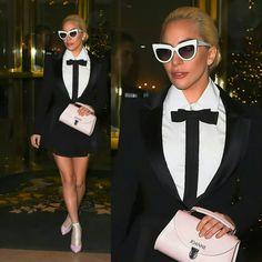 #LadyGaga stepping out through the streets of the City of Light! Gaga is in Paris preparing for her performance at Wednesday's #VSFashionShow!! • • • • • • • • • • • • • • • • • • • • • • • • • • • • • •  #LadyGaga saindo pelas ruas da Cidade da Luz! Gaga tá em Paris se preparando pra sua performance no #VSFashionShow quarta-feira!!