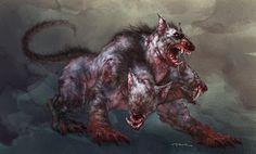El Can Cerbero era el perro de Hades, con tres cabezas y una serpiente en lugar de cola. Guardaba la puerta del Hades para evitar que los muertos no salieran. Era hijo de Equidna y Tifón, y hermano de Orto
