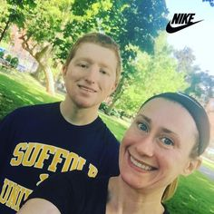 6.3 miles this morning with the bestie!  It was sunnier and hotter than the weather predicted. Looks like summer is finally starting to show up in Boston! #NRC #NIKE #NIKERUNNING #COMERUNWITHUS #NIKEBOSTON