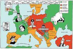 Karte von Europa im Jahre 1914 | ART 225 Map Making | Pinterest ...