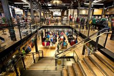 REI Store - SoHo NY - Historic Puck Building - A company passionate about preservation and re-purposing historical buildings.