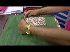 Mulher.com - 24/09/2015 - Porta marmita térmica,patchwork - Sonia Maria Mostachio PT1 - YouTube