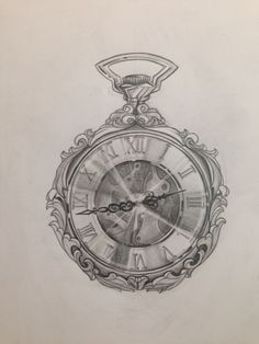 Pocket Watch drawing