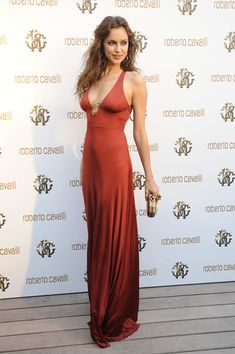 FeminineX | The Most Beautiful Dresses of Irina Shayk..I saw this dress in London and stopped and stared at the shop window!