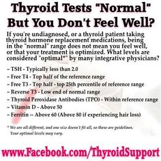 5 Reasons Doctors Fail To Diagnose Hypothyroidism Pinner Said: My doctor needs to see this. Optimal thyroid levels for hypothyroid patientsPinner Said: My doctor needs to see this. Optimal thyroid levels for hypothyroid patients Thyroid Test, Thyroid Issues, Thyroid Cancer, Thyroid Hormone, Thyroid Disease, Thyroid Problems, Thyroid Health, Autoimmune Disease, Low Thyroid