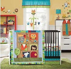 Nursery design we love - Kids Line 4 Piece Crib Bedding Set - Little Tree House Baby Nursery Themes, Baby Room Decor, Nursery Decor, Nursery Ideas, Themed Nursery, Baby Rooms, Bedroom Ideas, Wall Decor, Baby Bedroom