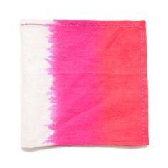 Kim Seybert Ombre Set of Four 21 in Square Napkins - Orange/Pink/Red by Kim Seybert, http://www.amazon.com/dp/B00762YC86/ref=cm_sw_r_pi_dp_dOPVpb0GKV62M