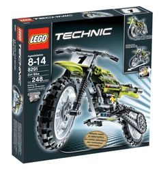 LEGO TECHNIC Dirt Bike -- Continue to the product at the image link. (This is an affiliate link) Lego Motorbike, Motocross Bikes, Lego Technic Sets, Lego Structures, Lamborghini Centenario, Lego City Police, Lego Man, Lego Trains, Cool Lego