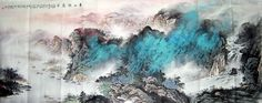 Mountain and Water,60cm x 150cm(23〃 x 59〃),1002014-z