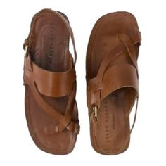 """Selling this """"Ralph Lauren Collection Leather Sandals"""" in my Poshmark closet! My…Menswear ♀️More Pins Like This At FOSTERGINGER @ Pinterest ♂️"""