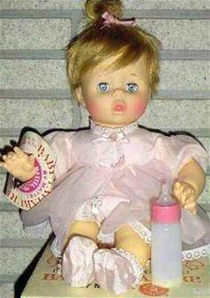 1964 Mattel Baby Pattaburp Doll - My Favorite!
