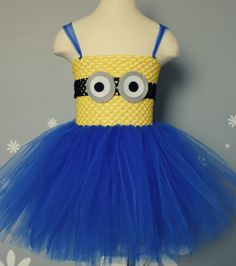 Minion+Tutu+Costume+by+CutieTututies+on+Etsy,+$26.00