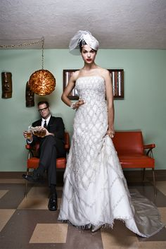 #wedding dresses... Chess... checkers anyone?