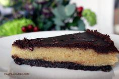 Raw vegan marzipan cake