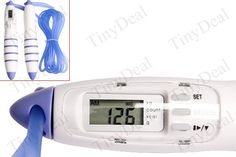 Digital LCD Jump Skipping Rope Calorie Counter Timer Loss Weight Tool - Color Assorted HKH-4260