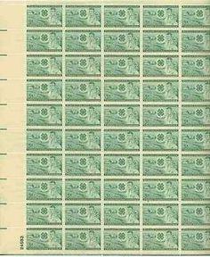 Farm, Club Emblem, Boy and Girl Full Sheet of 50 x 3 Cent US Postage Stamps NEW . $15.15. Farm, Club Emblem, Boy and Girl Full Sheet of 50 x 3 Cent US Postage Stamps NEW