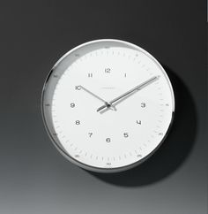 Max Bill Numb. Wall Clock 30cm - Junghans