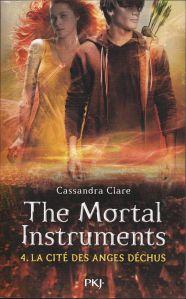 the mortal instruments tome 4 la cité des anges déchus, (la cité des ténèbres) retrouvez ma chronique sur mon blog!