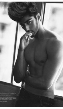 Shahin Zamani Poses For Sharp New Images By Toby Nguyen