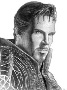 Doctor Strange by - Film Charakters Black & Gray Tattoos . - Doctor Strange by – Film Charakters Black & Gray Tattoos - Avengers Drawings, Avengers Art, Marvel Art, Marvel Heroes, Marvel Comics, Drawing Cartoon Characters, Character Drawing, Cartoon Drawings, Art Drawings
