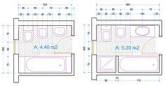 esempio dimensioni sanitari bagno con vasca