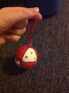 En liten julgranskula jag har gjort :-)