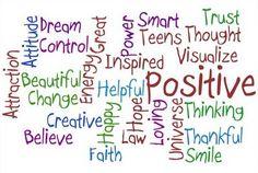 Tenha sempre #Pensamento #Positivo! =>> BLOG - http://blog.foruwecare-lurdescosta.com/blog/elimine-o-n%C3%A3o-da-sua-vida