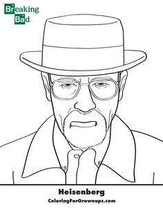 20 Breaking Bad Ideas Breaking Bad Coloring Books Coloring Pages