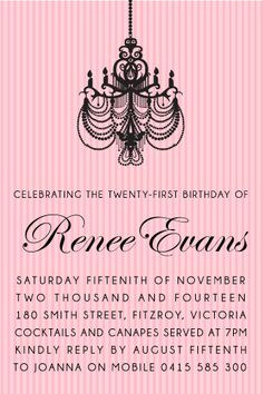 65 best invitations for women birthday invitations images on