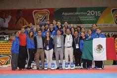 México subcampeón en categiría Junior dentro del Panamericano de Taekwondo ~ Ags Sports
