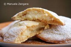 Genovesi - cream filled Italian pastries